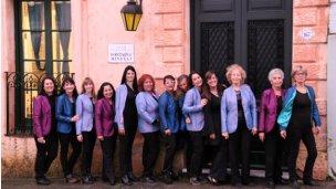 """Coral """"Allegra"""" participó de un encuentro en Colonia, Uruguay"""
