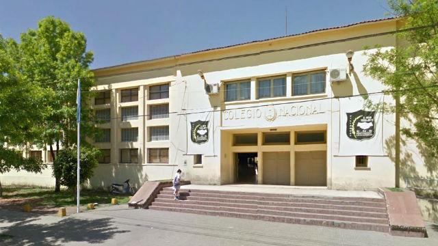 La escuela donde ocurrió el hecho denunciado.