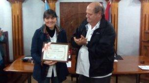 Nuevo reconocimiento para Claudia Ferreirós