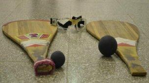 Torneo de pelota paleta en el Club Itapé
