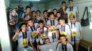 Los uruguayenses ganaron por goleada