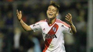 El uruguayense que debutó con un gol soñado en River