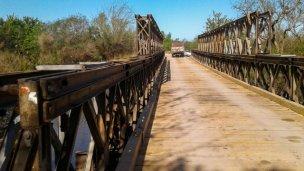 Está listo el nuevo puente a Talita