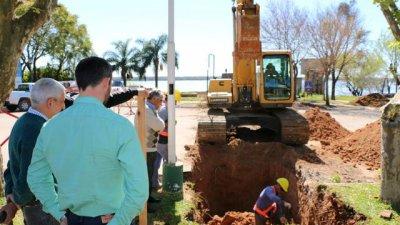 Obras previas a la instalación de las nuevas plantas compactas
