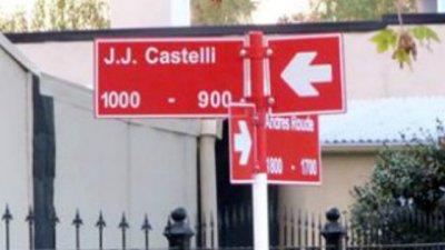 Quieren regular la denominación de las calles