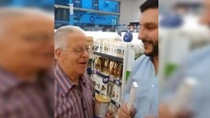 La Justicia citó al empleado de farmacia que filmó un video con Rivas