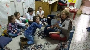 Los niños tienen su espacio en la Biblioteca Popular