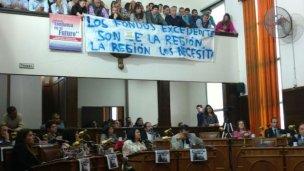 Los empleados de Cafesg, apoyados por el Concejo