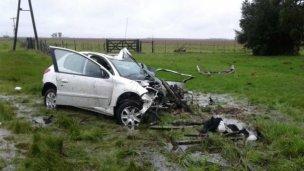Dos personas murieron en un accidente en Ruta 11