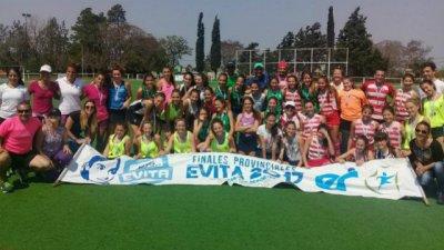 El equipo uruguayense de hockey resultó subcampeón en los Juegos Evita