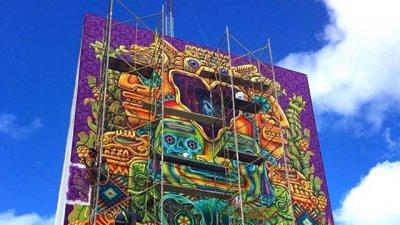 Este impactante mural en Cancún es obra de un entrerriano