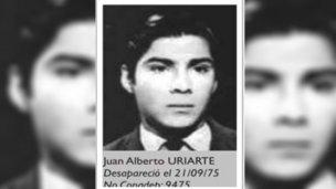 Un año más de la desaparición de Juan Alberto Uriarte