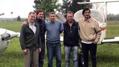 3 nuevos pilotos egresaron de la escuela del Aeroclub Concordia