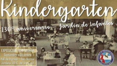 El jardín de la Escuela Normal cumplió 130 años