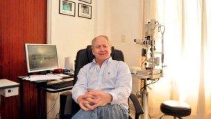 Primer trasplante hospitalario de córnea a un paciente de Colón