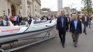 Entre Ríos sumó embarcaciones para casos de emergencia