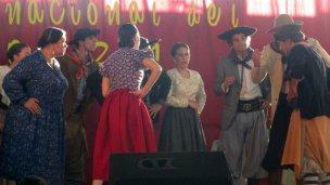 Delegación entrerriana, rumbo al Festival Nacional de Malambo