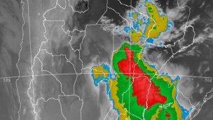 Renovaron el alerta por tormentas para el norte de Entre Ríos