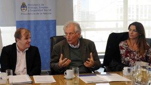 La inclusión laboral de discapacitados, en la agenda de Gayol