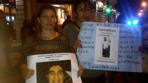 La causa por la desaparición de Miño y Quintana, en un pasamanos