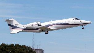 El Poder Ejecutivo pagó $ 1,1 millones por traslados aéreos