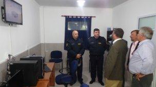Inauguraron un centro de vigilancia en Colonía Elía