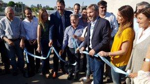 Frigerio inaugura la obra de la Defensa Sur