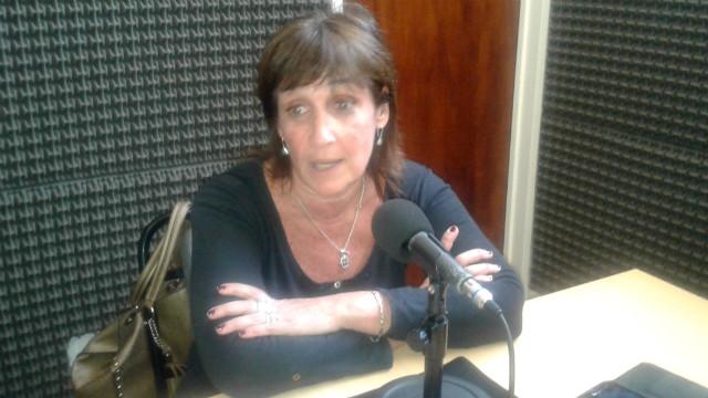 Palazzo, en los estudios de Radio 12 de Colón.
