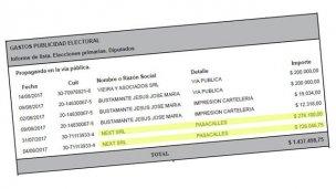 La imprenta de Juan Pablo Aguilera cobró $ 1 millón por trabajos al PJ