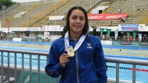 Florencia Lazza competirá en Brasil