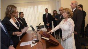 Nuevos magistrados juraron en dos localidades entrerrianas