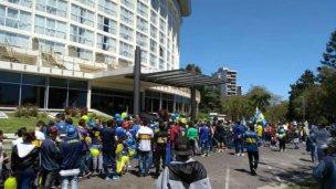 Paraná recibe a Boca con un banderazo de hinchas