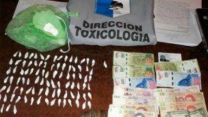 En varios allanamientos, incautaron drogas y detuvieron a cuatro personas