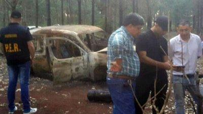 Le falta el motor a la Partner hallada en Corrientes