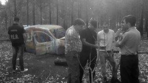 Tras el hallazgo de la camioneta de Miño, declaró un testigo