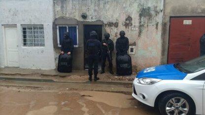 Allanamientos luego del tiroteo en el barrio la Quilmes