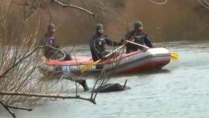 Hallaron un cuerpo en el río Chubut: podría ser Santiago Maldonado