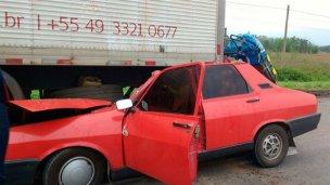 Violento impacto dejó dos muertos en el sur entrerriano