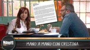 Polémica por los aplausos a Cristina en el programa de Rozín