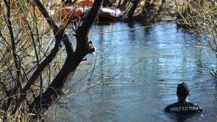 El cuerpo encontrado en el río Chubut tenía el DNI de Maldonado
