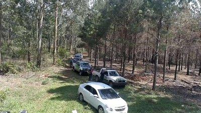 Canes adiestrados buscan rastros de Miño y Quintana en Corrientes
