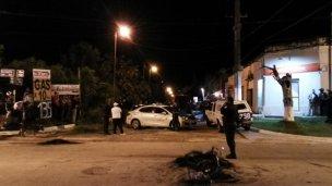 Al menos un muerto en un corte de calle en Concordia