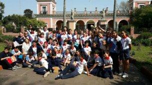 Más de 400 alumnos conocieron el Palacio San José