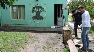 Gas natural para el centro comunitario de El Ombú