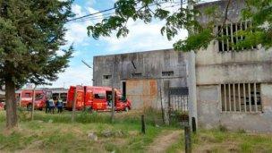 Encontraron un cadáver en una fábrica abandonada de Crespo