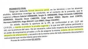 Ingresó a tribunales otra denuncia penal contra Mauro Urribarri