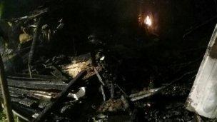 Detuvieron a cinco personas por el incendio en el barrio La Tablada