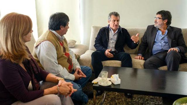Romero, Urribarri y Halle (foto de archivo).