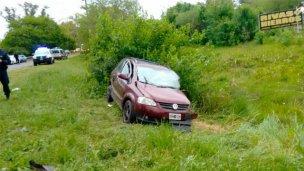 Falleció el hombre que había quedado atrapado en su auto