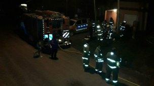 Los bomberos elisenses, en permanente formación